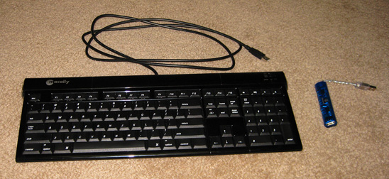 macally icekey keyboard